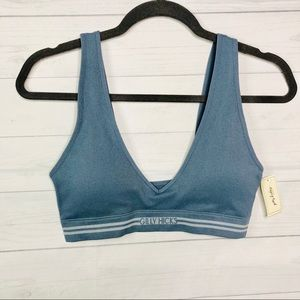 Seamless Triangle Bralette With Removable Pads
